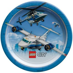 Lego City Dessert Plates