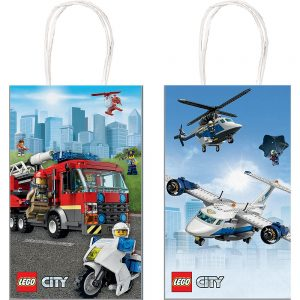 Lego City Favor Bags