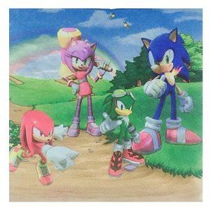 Sonic Paper Napkins