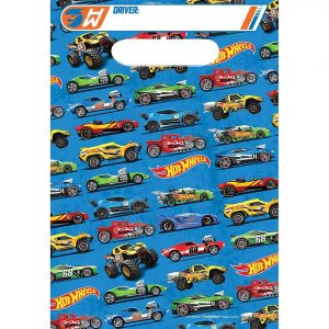 Hot Wheels Favor Bags