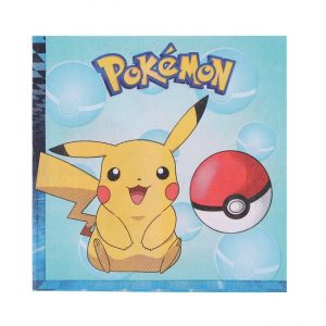 Pokemon Lunch Napkins