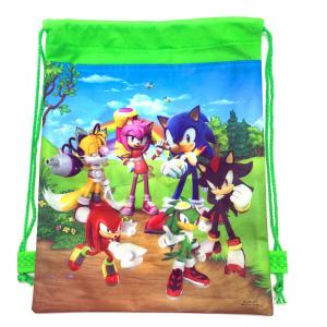 Sonic the Hedgehog Drawstring Bag