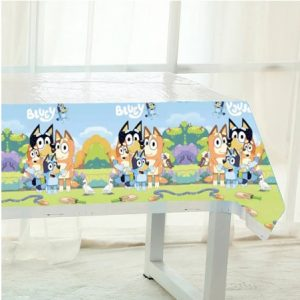 Bluey Plastic Tablecover