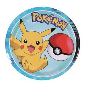 Pokemon 7in Plates