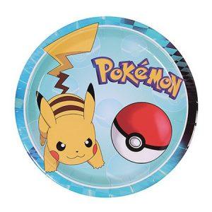 Pokemon 9in Plates